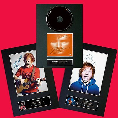 ED SHEERAN SPECIAL OFFER Signed Autograph Mounted Photo PRINTS All 3 for £12.00