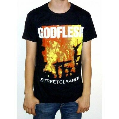 "Godflesh ""Streetcleaner"" T-shirt - pure slavestate songs love hate cold world"