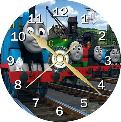 Thomas The Tank Engine Novelty Cd Clock Can Personalised