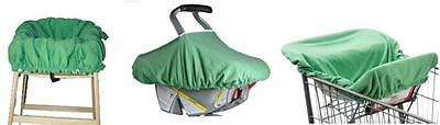 Baby Infant Car Seat Shopping Cart Cover ~ Organic Cotton~ *Reduced Price!* NEW