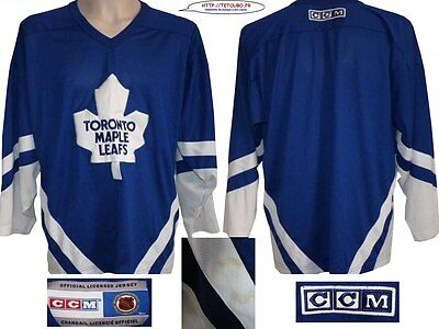 Maillot jersey de hockey NHL Toronto MAPLE LEAFS ccm Taille L