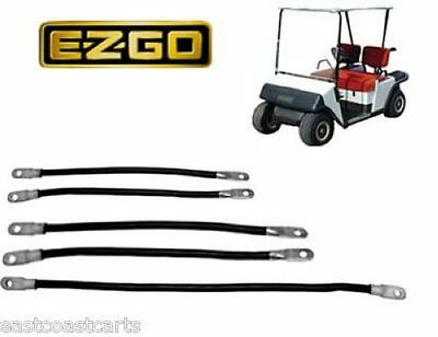 EZGO Marathon 1986'-1994' Golf Cart # 4 Gauge BATTERY Cable Set