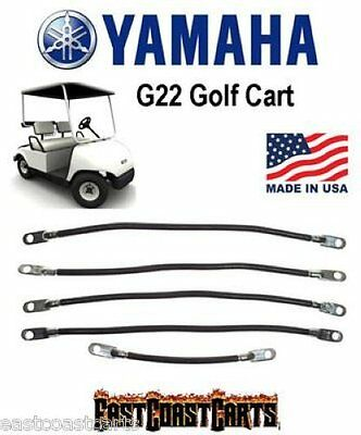 Yamaha G22 Golf Cart #2 Gauge Battery Cable Set