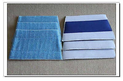 Brand New 6 Microfiber Cleaning Pads For Haan Steam Mop