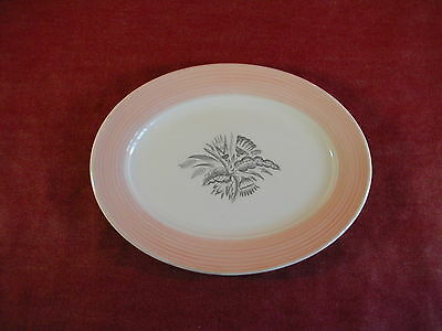 """Triumph by American Limoges Oval Serving Platter,11 1/2"""" x 8 3/4"""" No chips/crack"""