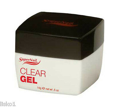 SuperNail CLEAR GEL .5 oz.