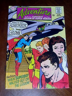 ADVENTURE COMICS #371 (1968) VF- cond.  LEGION of SUPER-HEROES High Grade!