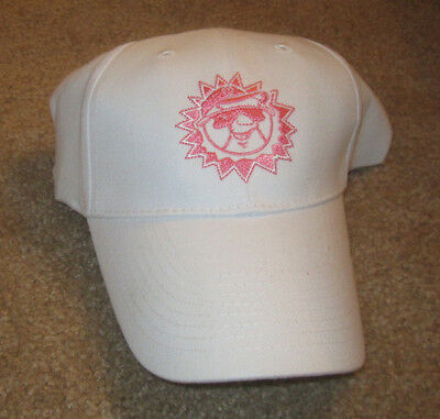▐► Hagerstown Suns Minor League Baseball Breast Cancer Cap/Hat WHITE/PINK new
