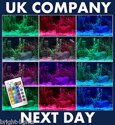 Colour Changing Led Strip Light Aquarium Lighting Fish
