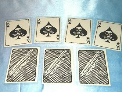"""Vietnam War Ace Of Spades  """" Death Card""""  12  Each For  Only $12.95 In Plastic"""