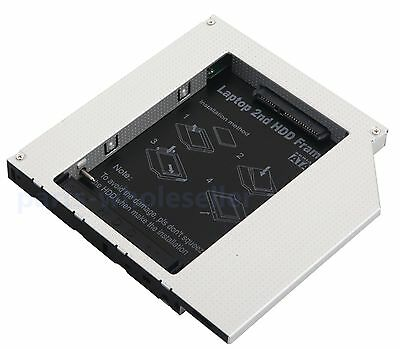 New Pata IDE to Sata Caddy Module For 12.7mm Universal CD / DVD-ROM Optical Bay