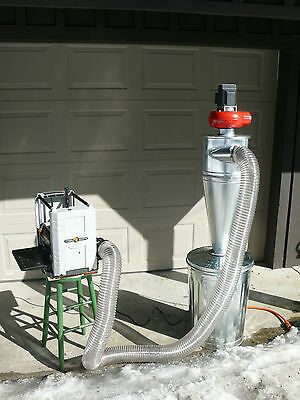Cyclone Separator for Dust Collector with Left hand Inlet