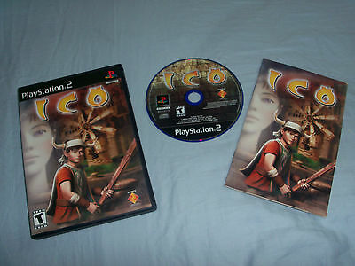 ICO  (Sony PlayStation 2, 2001)COMPLETE