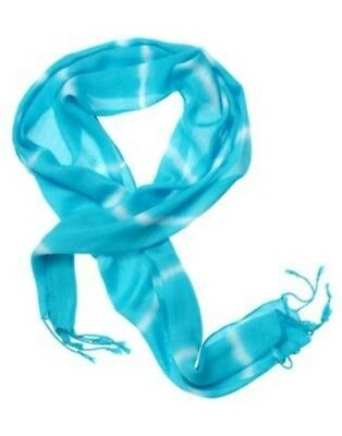 Gymboree Tropical Bloom Turquoise Tie Dye Scarf 1-Size Nwt