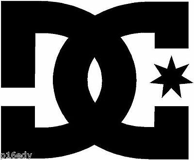 DC SHOES Snowboard Decal Sticker Graphic *Colour Choice*
