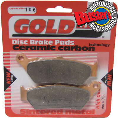 BMW F 650 GS Dakar 2003 Sintered Motorcycle Front Brake Pads
