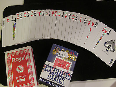 """Invisible Deck Magic Trick """"Royal"""" - Greatest Card Trick EVER! Close Up, Pocket"""
