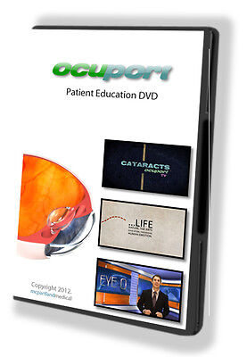 Patient Education Videos for your Waiting Room &/or Exam Room - Brand New DVD
