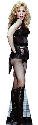 "Madonna Lifesize 5'8"" Cardboard Standup Standee Cutout Poster Prop Display New"