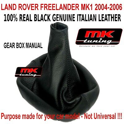 Land Rover Freelander 2004-06 Gear Boot Shift Gaiter Cover Leather