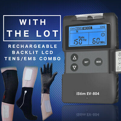 TENS Machine/ MH-8000 TENS & EMS Machine/Ultimate Pain Control Kit/Assorted Pads