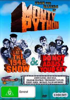 Monty Python's at Last the 1948 Show / Do Not Adjust Your Set NEW R4 DVD