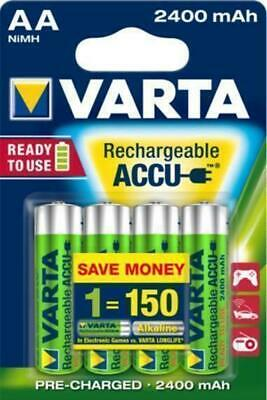 4 x VARTA r2u 2600mAh Power Akku AA Akku Mignon ready to use  NIMH NEU LR6