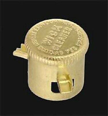 Reproduction Aladdin Lamp Style Brass Wick Cleaner/Trimmer - No Trim Ring