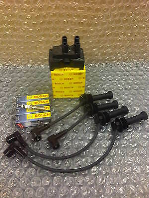 FORD FOCUS mk2 & C MAX 1.4 1.6 BOSCH IGNITION COIL PACK,PLUGS & LEADS 05 onwards