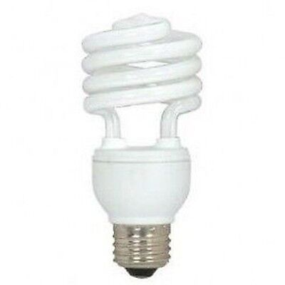 18W T-2 Super Mini Spiral Compact Fluorescent CFL =75W E26 US Standard Base T2
