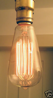 Lot of 6 Reproduction Antique Style 60w  Light Bulbs