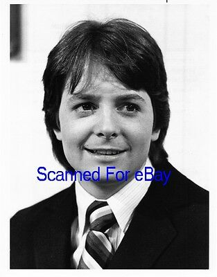 MICHAEL J. FOX Terrific TV Photo FAMILY TIES