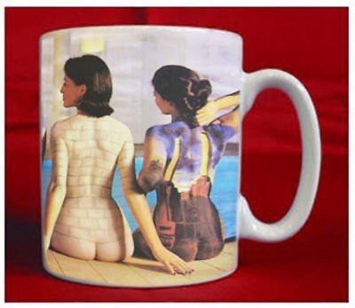 Pink Floyd Back Catalogue Cover Sublimation Mug - NEW