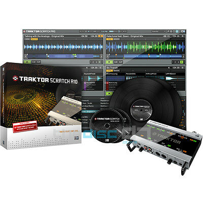 Native Instruments Traktor Scratch A10 - Traktor Scratch Pro 2 - Latest Version