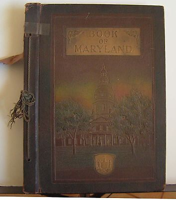 The Book Of Maryland: Men and Institutions 1920 Agnus Biographies Baltimore