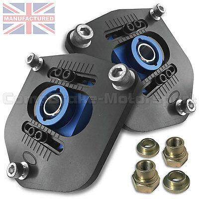 Lancia Delta Evolution Front Top Mounts Fully Adjustable (1 Pair) Cmb4329