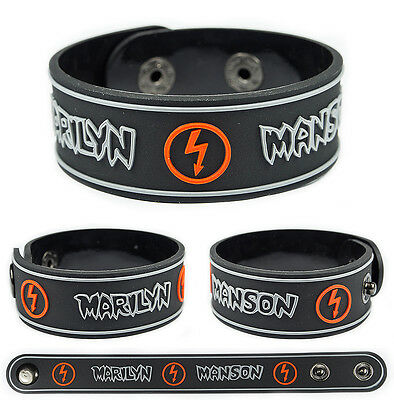 MARILYN MANSON Rubber Bracelet Wristband The Beautiful People