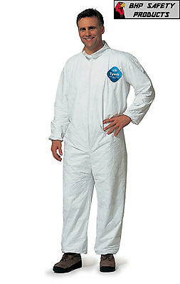 Dupont Tyvek Coveralls  Plain Suit 25 Per Case Size X-Large Disposable Coverall