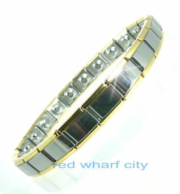 Ladies Expanding Stainless Steel Magnetic Therapy Bracelet-Arthritis Pain Relief