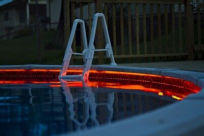 Pool Outdoor Light WaterProof LED Lighting Strip SMD 5050 300 LEDs 20/ft RED