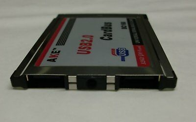 USB 2.0 PCMCIA (PC Card) 2-port SLIM-VERSION   #d824