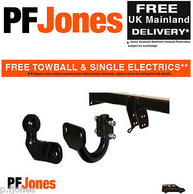 Towbar for Peugeot 3008 Crossover 2009 On - Flange Tow Bar