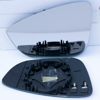 Driver Side TO-Aygo 2005 to 2014 Silver Wing//Door Mirror Glass RH