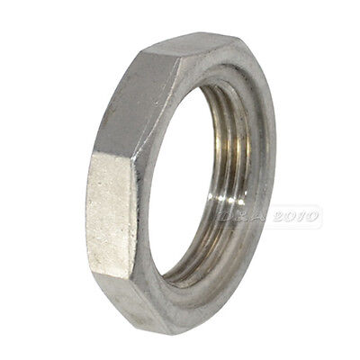 """LOCKNUT 1 1/4"""" NPT 304 STAINLESS STEEL LOCK NUT O-Ring Groove Pipe fitting"""
