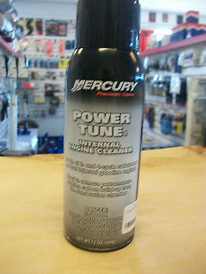 MERCURY -BOAT- POWER TUNE INTERNAL ENGINE CLEANER USED TO REMOVE CARBON BUILDUP