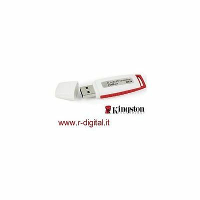 Penna Drive Kingston Chiavetta Usb 32Gb Pendrive Ergonomica Pen Drive 32 Gb
