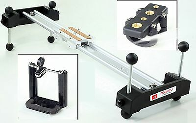 Proaim 2ft slider dolly track stabilizer system for 7D 5D XL1 EX3 Z1u Z7u camera