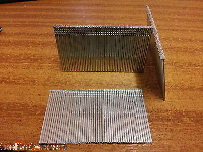 100 x 16 Gauge Galvanised Brads/Finish Nails - 50mm. T50 Nails