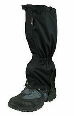 HIGHLANDER HIKING WATERPROOF BOOT WALKING GAITERS PAIR ARMY MILITARY (rmll2)