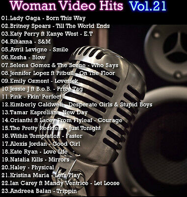 Promo Video Compilation DVD, Woman Video Hits Volume 21